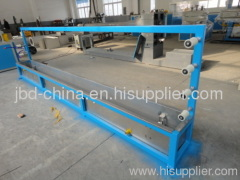 Plastic packing belt extrusion machine