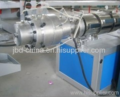 plastic pipe extruding machine