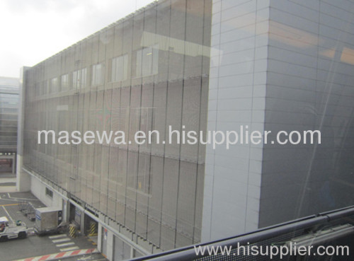 architectural metal mesh for curtain wall