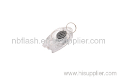plastic keychain flashlight