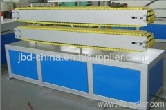 PVC pipe processing machine