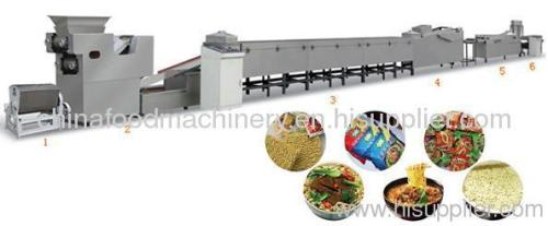 instant noodle processing line/machine