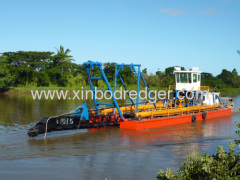 Chinese Hydraulic Cutter Suction Dredger