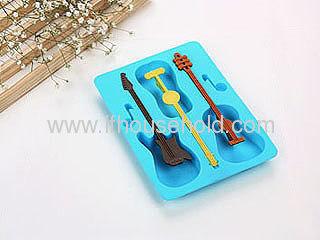 guitar shape ice tray