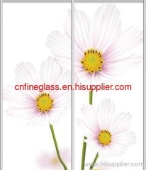 hot selling silkscreen glass