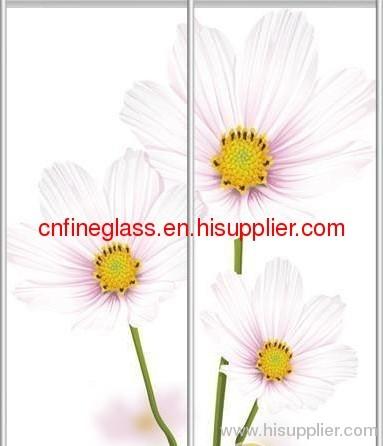 hot selling silkscreen glass