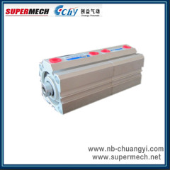 ACQD double rod compact pneumatic cylinder made in china