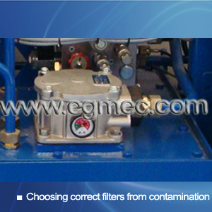 Preventing Contamination to Hydraulic Power Units