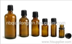 Amber prefume bottle glass vials 5ml 10ml 15ml 30ml 50ml 100ml with cover