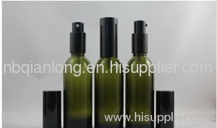 2012 most popular green essential oil bottle glass vials 15ml with CRC cover