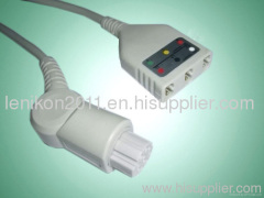 Datex ECG cable
