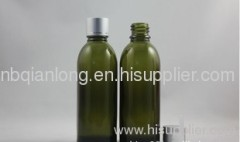 most popular HL Asian Development Bank,60ml slender gray yellow essential oil bottle with a single engraved line alumina
