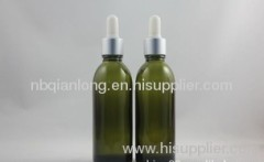 most popular slender yellow-gray oil bottle 60ml with HL ADB ring white plastic head alumina dropper