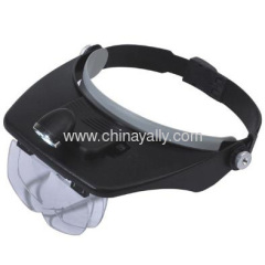 LED light head magnifier