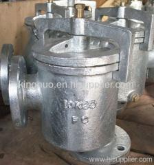 JIS F7203 Cast Iron Mud Box