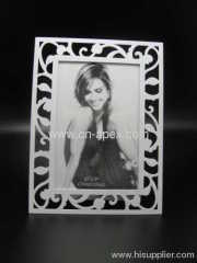 Metal carved photo frame