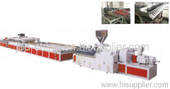 WPC door and window board extrusion line