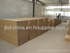 PVC wood plastic composite door board extrusion line