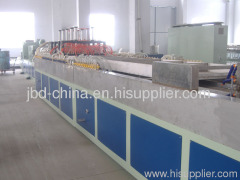 PVC wood plastic composite door board production line