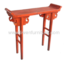 Chinese classical furniture altar table
