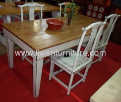 Chinese dining table and chair