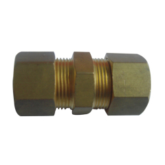 Forged Copper Coupling With Union Fitting