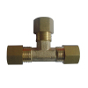 Forged Brass Equal Union Tee Fittings