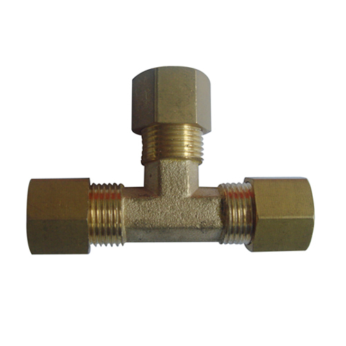 Copper union tee pipe fitting from china manufacturer