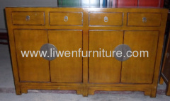 Antique Chinese distressed buffet