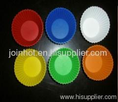 silicone miffin case 7*3cm for cupcake maker