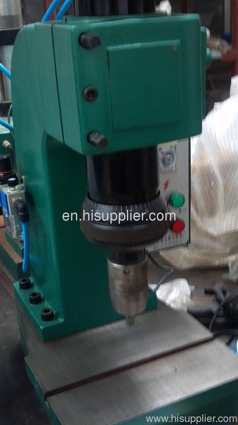 Gas to liquid pressurization press