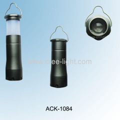 classic multi function focus cree Q5 LED flashlight & camping lantern ACK-1084