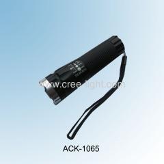 Classic CREE LED Aluminum High Power Flashlight ACK-1065