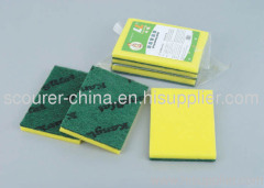 Scouring pad with LOGO