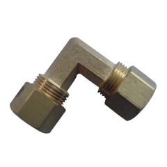 Brass 90 Degree Elbow With Nut/Brass Fittings