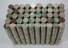 Adhesive Neodymium Disc Magnets