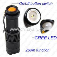 LED Zoom Flash light
