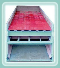 widely used vibrating screen for sand making