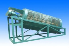 low cost drum screen for brick making