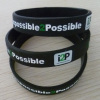 Customized logo bracelet; silicone wristband; promotional gifts