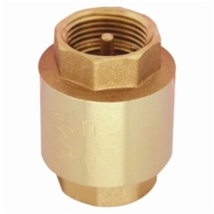 Forged brass spring check valves with PN16