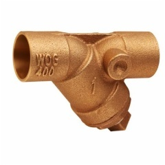 Bronze Y-Strainers with Tapped Retainer Cap