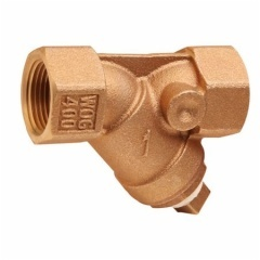 Bronze Y-Strainers with Tapped Retainer Cap/Thread End