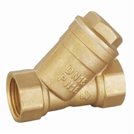 Forged brass filter valves with female thread PN16