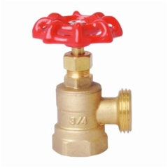 Brass Boiler Drain Valve With Casting Iron Handle