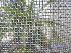 galvanized square wire screen