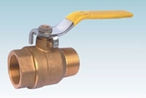 Brass FxM thread Ball Valve