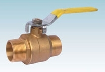Brass Male Thread Mini Ball Valve