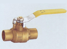 Forged Copper Solder Ball Valves