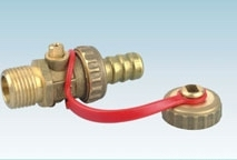 Brass Ball Valve With Cap